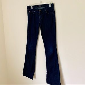 Hudson Jeans Size 27 Boots Cut